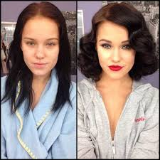 18 beautiful models before and
