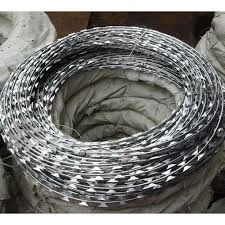 China High Definition Stainless Steel Woven Mesh Razor Wire Concertina Wire Yezhen Manufacturers And Suppliers Yezhen