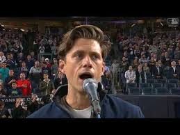 Aaron Tveit gets high praise for US national anthem performance - AXS
