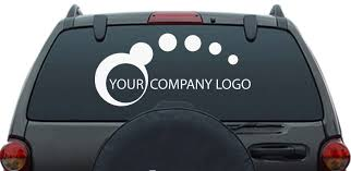 Business Logo Vehicle Window Decal Sticker