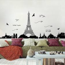 Eiffel Tower Wall Decal Hobby Lobby Large Vinyl Design White Stickers Personalized Vamosrayos