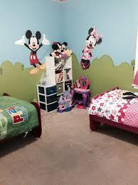 Play Corner Of Mickey Minnie Room Unisex Kids Room Kid Room Decor Boy And Girl Shared Bedroom