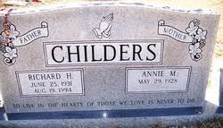 Annie Myrtle Richardson Childers (1928-2014) - Find A Grave Memorial