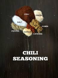 diy chili seasoning copycat chili
