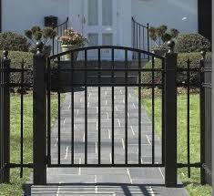 Driveway Gate Wrought Iron Fence Mild Steel Fence Cap Steel Rectanglesteel Fitting Aliexpress