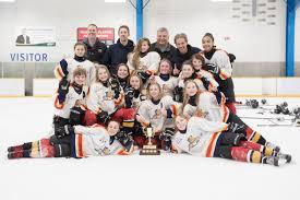I'm super proud of them': Regina girls hockey team wins co-ed division  championship | CBC News
