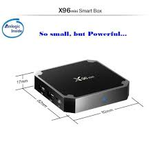 Winbuyer X96 Mini Android TV Box 1GB +8GB Android 7.1 4K Smart TV ...