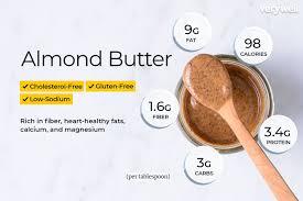 almond er nutrition facts calories