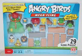 Angry Birds Mega Fling Board Game Great Fun Gift Hard to Find NIB ...