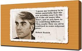 Amazon.com: Robert Nozick Quotes 3 - Canvas Art Print: Posters & Prints