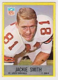 Rookie - 1967 Philadelphia Jackie Smith #165 Card - St. Loui