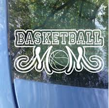 Basketball Mom Decal Sports Mom Basketball Mom Window Etsy