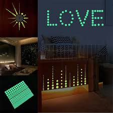 407pcs Glow In The Dark Star Wall Stickers Round Dot Luminous Kids Room For Sale Online Ebay