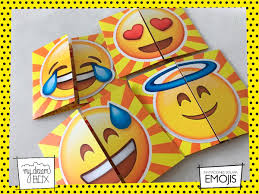 Tarjetas Invitacion Solapa Cumple Infantil Emoji Emoticon 371
