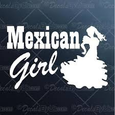 Best Deals On Mexican Girl Car Truck Stickers