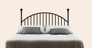 Iron Rod Headboard Wall Decal Dezign With A Z