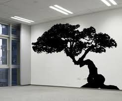 Vinyl Wall Decal Sticker Weird Bonsai Ac228m By Stickerbrand Tree Wall Decal Wall Decal Sticker Wall Decals