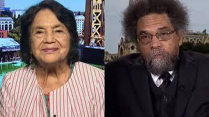 Dolores Huerta and Cornel West Respond to Second Democratic Debate