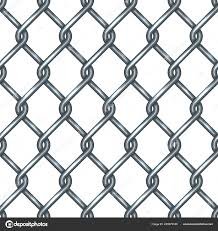Chain Link Fence Seamless Pattern Stock Vector C Vectortatu 245979436