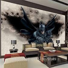 3d Amazing Batman Wall Mural Custom Large Photo Wallpaper Super Hero Room Decor Wall Art Bedroom Children S Room Background Wal Photo Wallpaper Batman Wall Muralswall Mural Aliexpress
