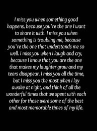 yes i miss you every minute of everyday mom miss my best