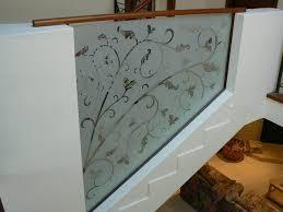 sandblasted glass barades