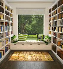 reading room design ideas at home for