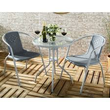eila 2 seater bistro garden set easy b