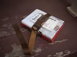 diy project old school book strap