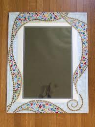 mosaic mirror frame mosaic mirror