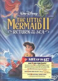 Little Mermaid II, The: Return to the Sea - Jim Kammerud - 717951007445    HPB
