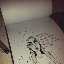 cute aesthetic drawings quotes