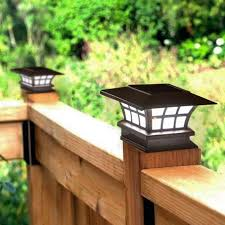 Solar Powered Fence Post Cap Led Light Next Deal Shop