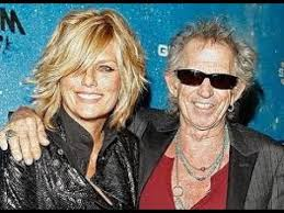 keith richards and his wife patti hansen - YouTube