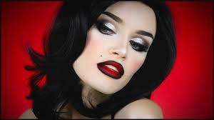 vine film noir makeup