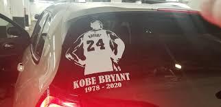 Rest In Peace Kobe Bryant Decal Sticker Custom Sticker Shop