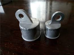 China Fence Rail End Aluminum Chain Link Fence Parts China Fence Parts Fence Post Cap