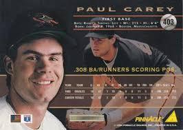 Paul Carey Gallery - 1994 | Trading Card Database