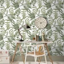 Midsummer Fern Lush Wallpaper - GrahamBrownUK