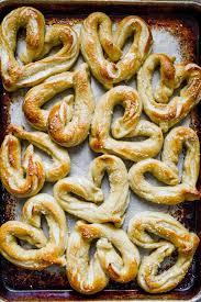 heart shaped homemade pretzels my