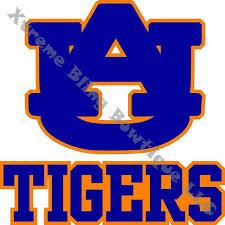 Auburn Tigers Car Decal Xtreme Bling Bowtique Llc