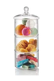glass canister for coffee cookie