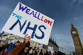 clap to say thank you to NHS workers ...