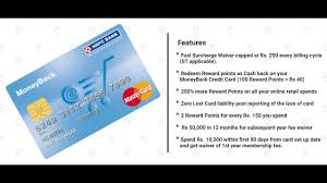 hdfc business money back credit card