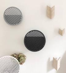 grey diagonal wall basket by andreasson