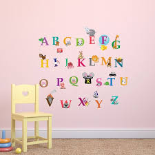Alphabet Wall Decals Wayfair