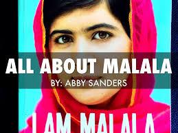 I Am Malala by Abby Sanders