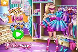 superhero doll closet play free