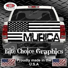 American Flag Decal Vinyl Graphic Sticker Distressed Large Window Truck Car V4 Rainbowlands Lk