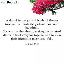 a th in the garland h quotes writings by sujala patil